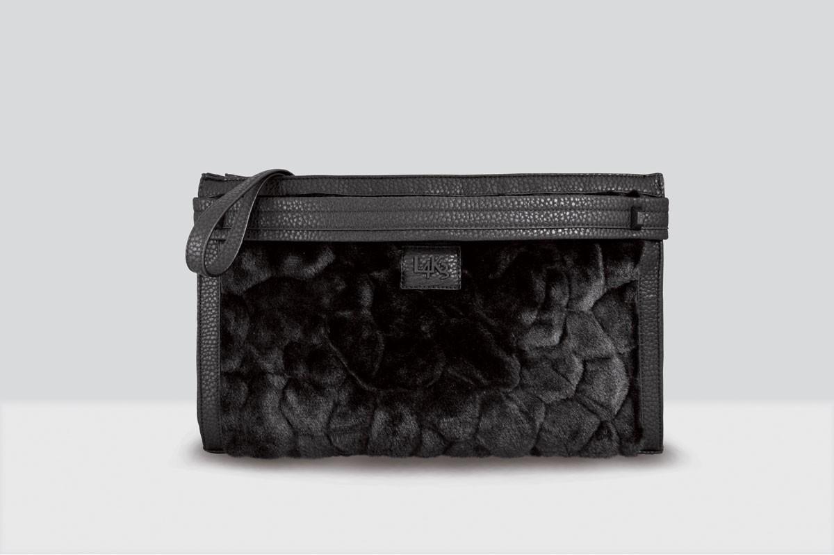 Kate Bag Fur - 116 - Black