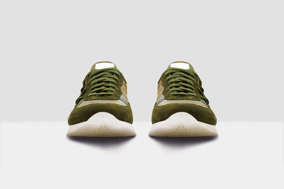 Mr Big Vintage - 16 - Military Green/Brown