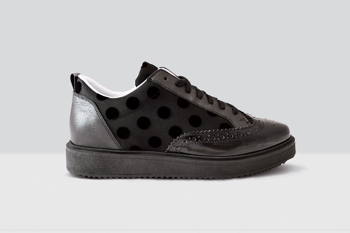 Royal Derby Velluto Pois - 61 - Black/Black