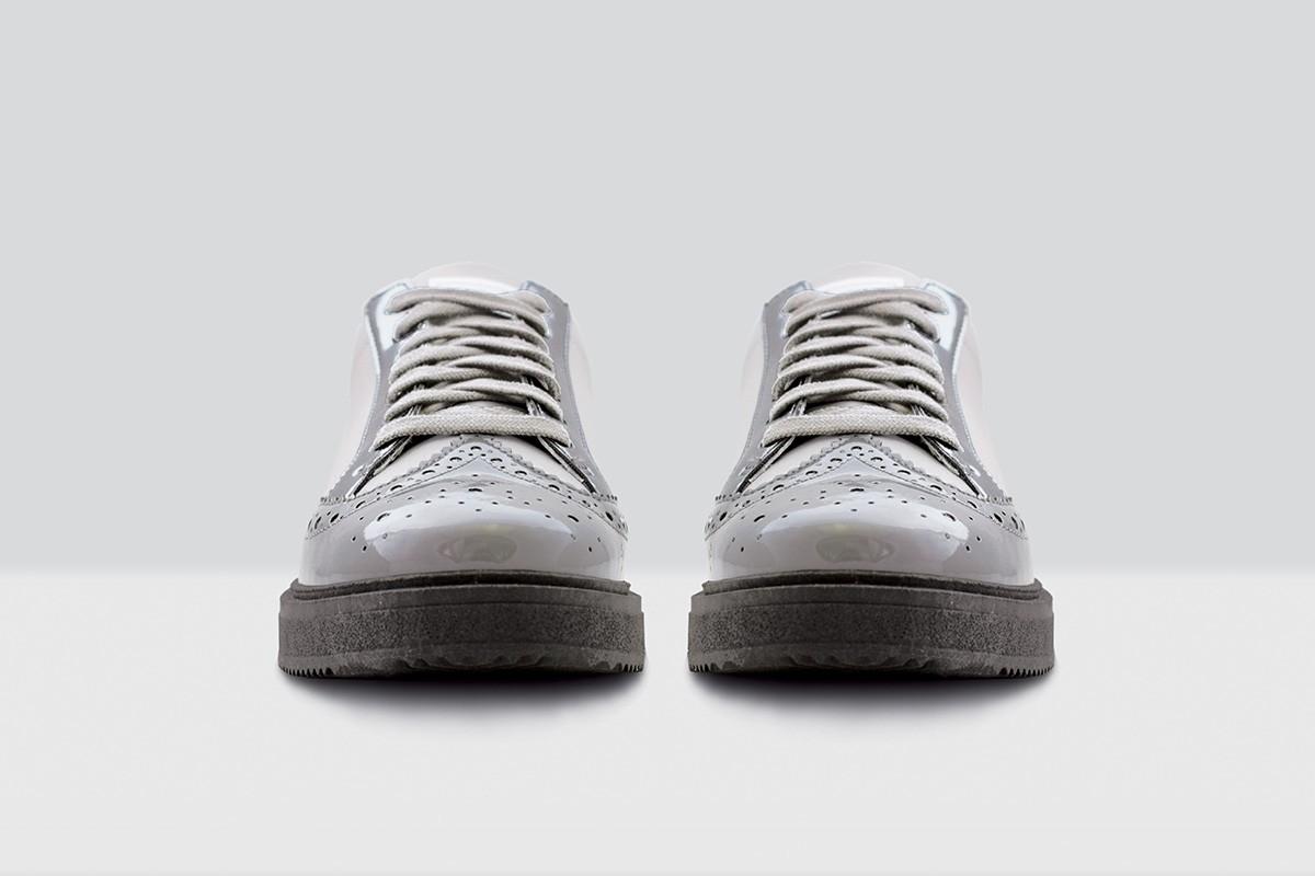 Royal Derby Nappa - 64 - Light Grey/Grey