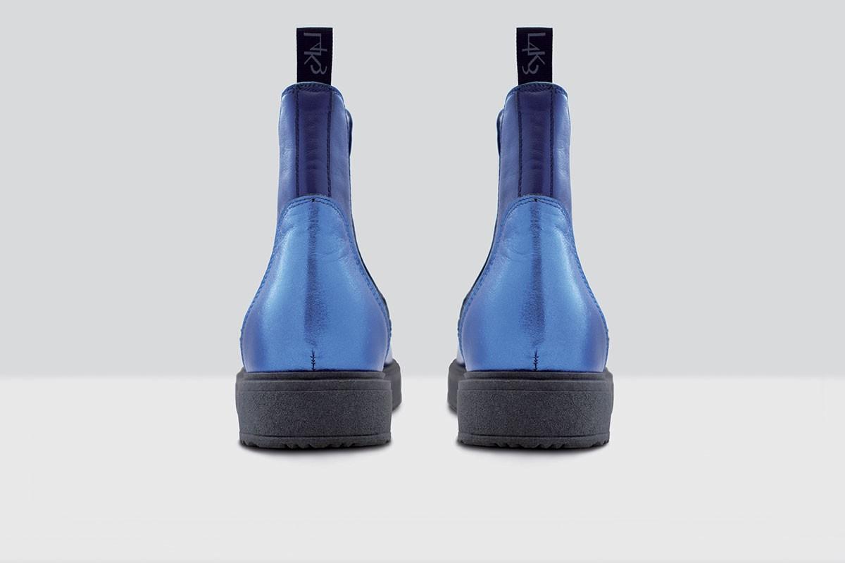 Beatles Velluto Pois - 76 - Night Blue/Blue