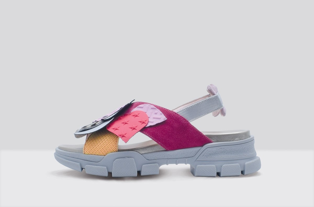 Sandal PATCH Fucsia