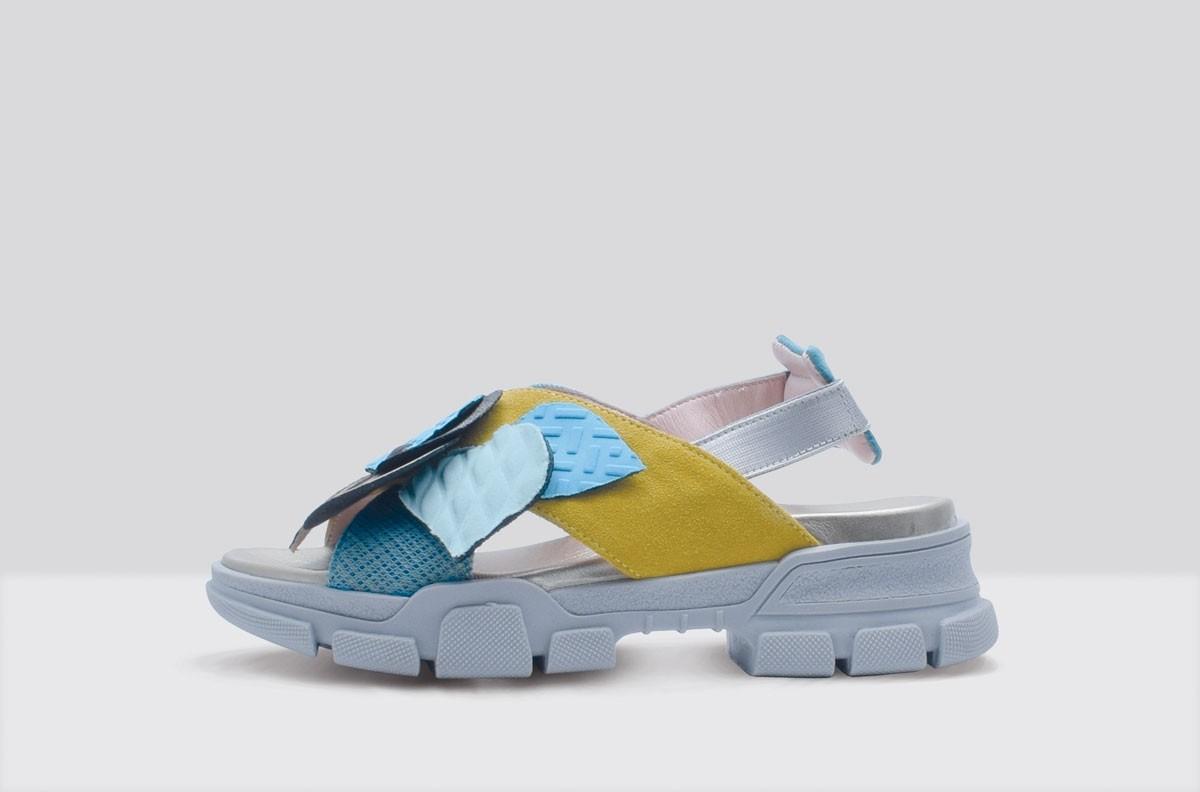 Sandal PATCH Yellow