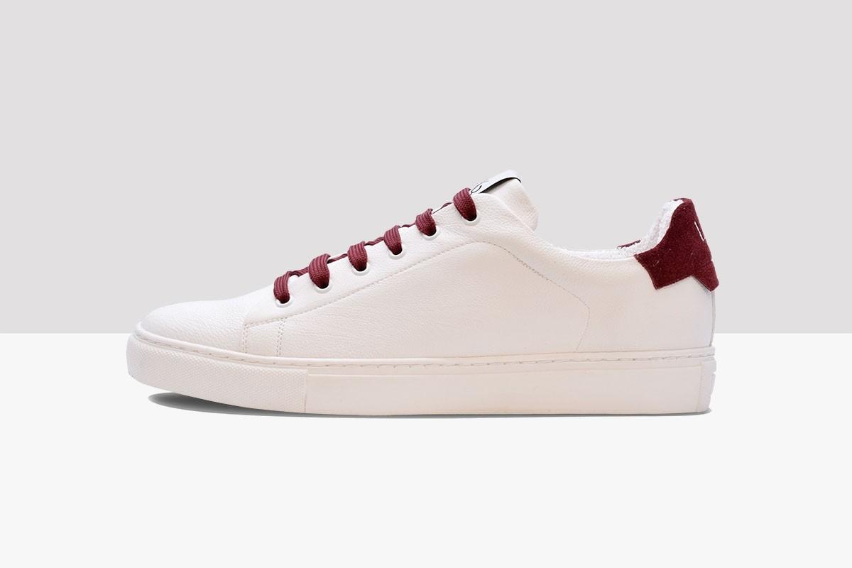 Tennis CLASSIC - White/Bordeaux