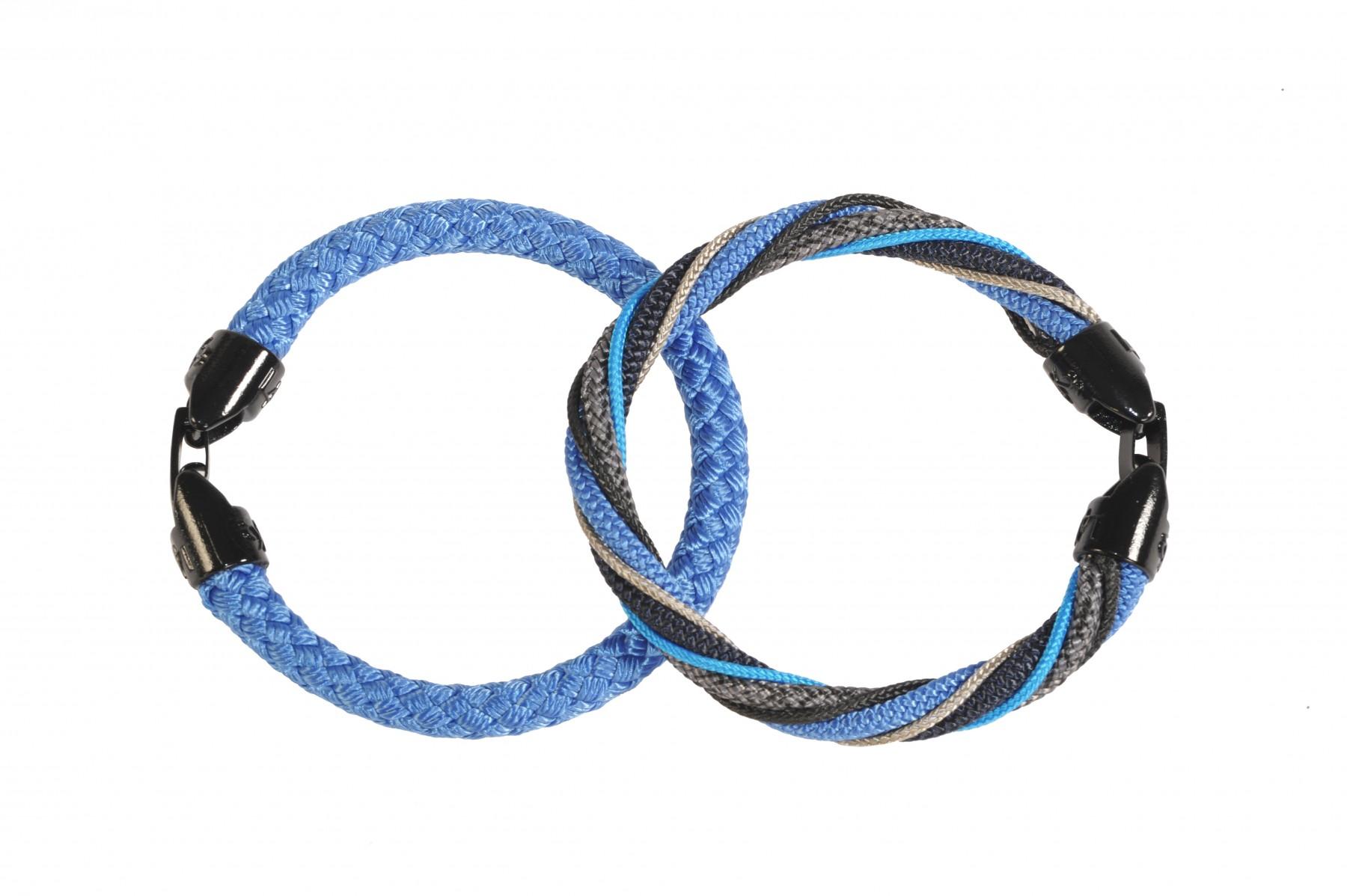 Bracciale Must uomo 19 azzurro