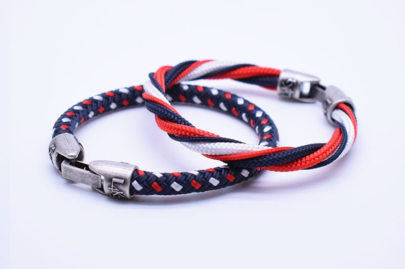 TAYLOR 01 - Blue Navy - Bianco - Rosso / Blue Navy spie color
