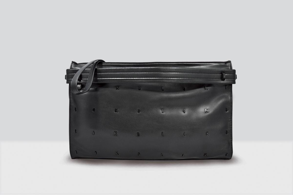Kate Bag Letters - 115 - Black/Black