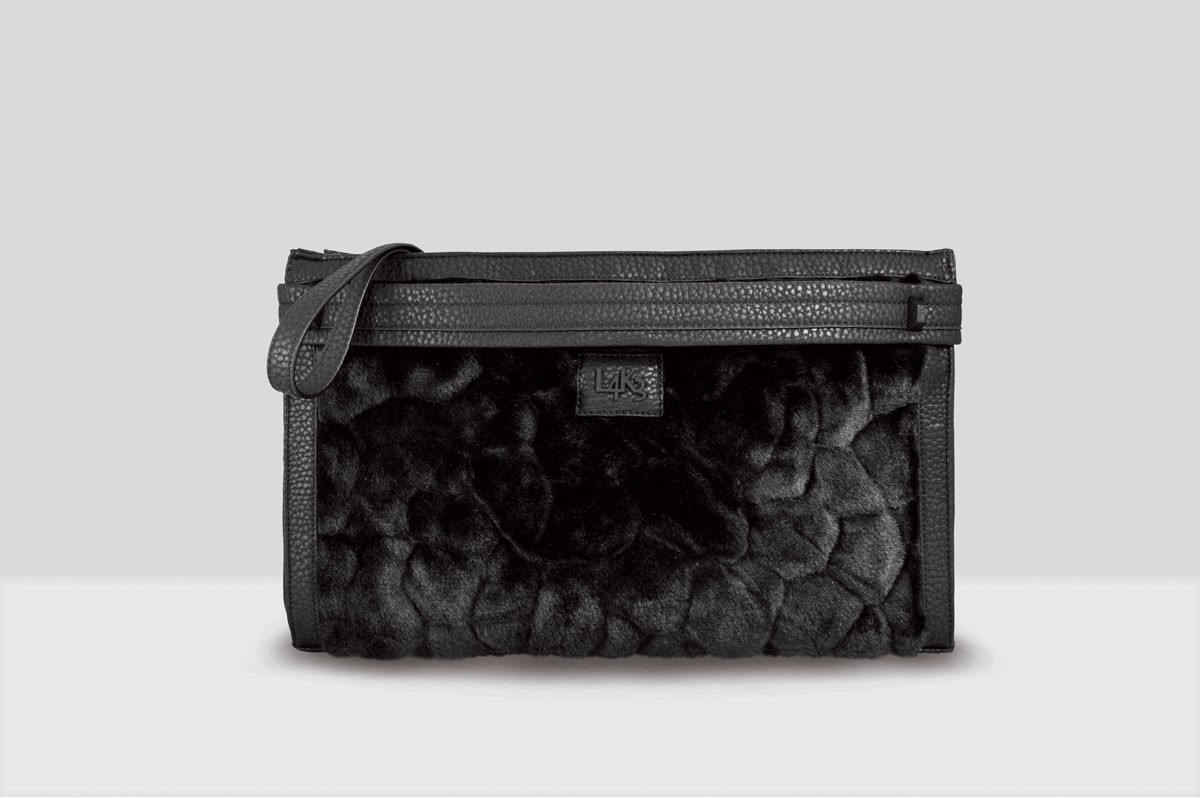 Kate Bag Fur - 116 - Black