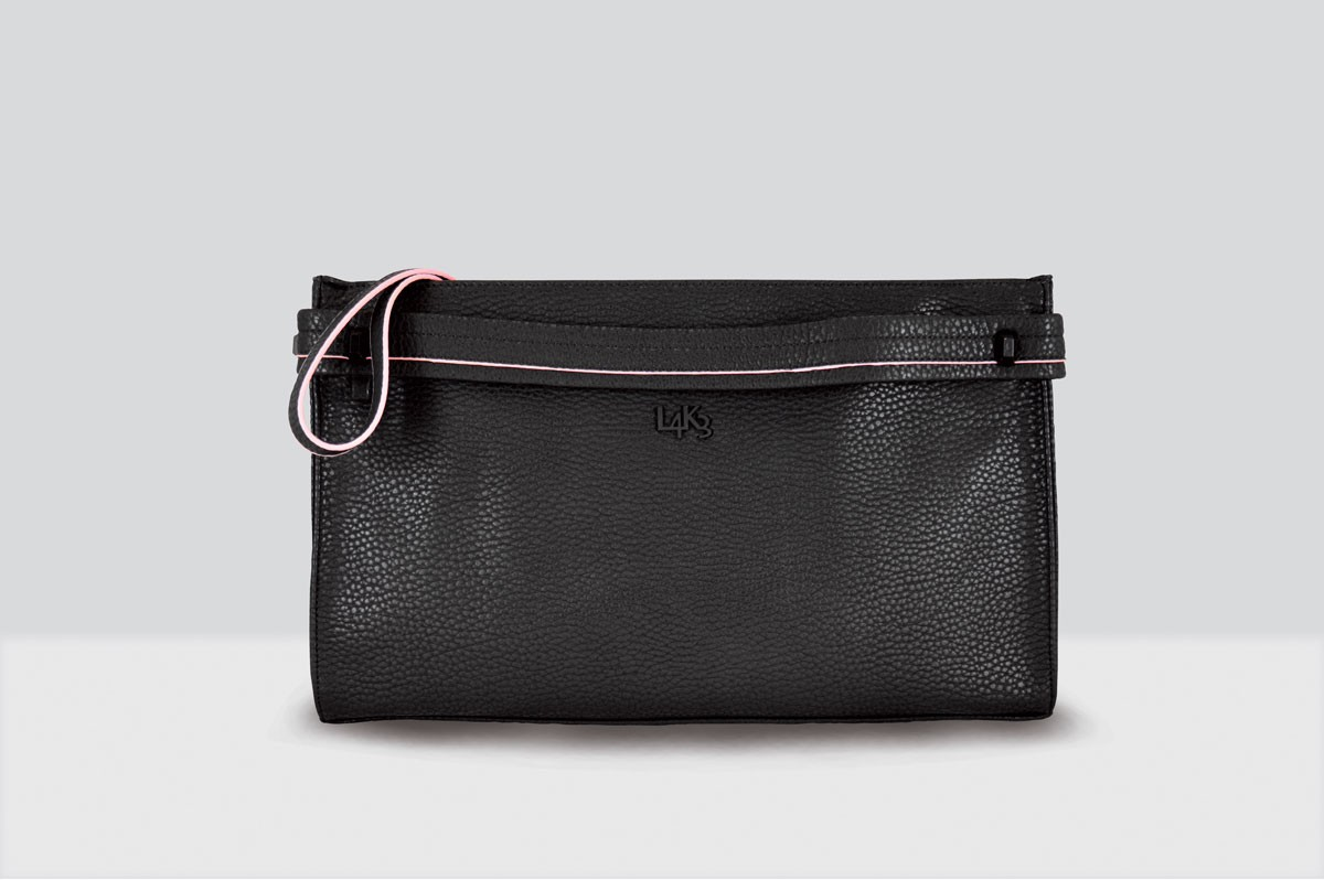 Kate Bag Fur - 118 - Black/Pink