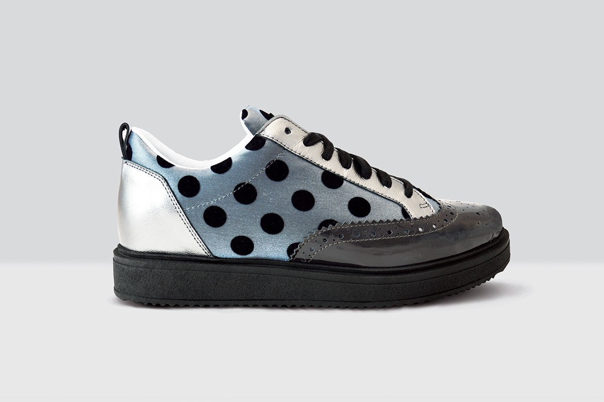 Royal Derby Velluto Pois - 59 - Grey/Silver