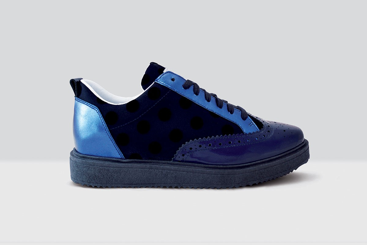 Royal Derby Velluto Pois - 62 - Night Blue/Blue