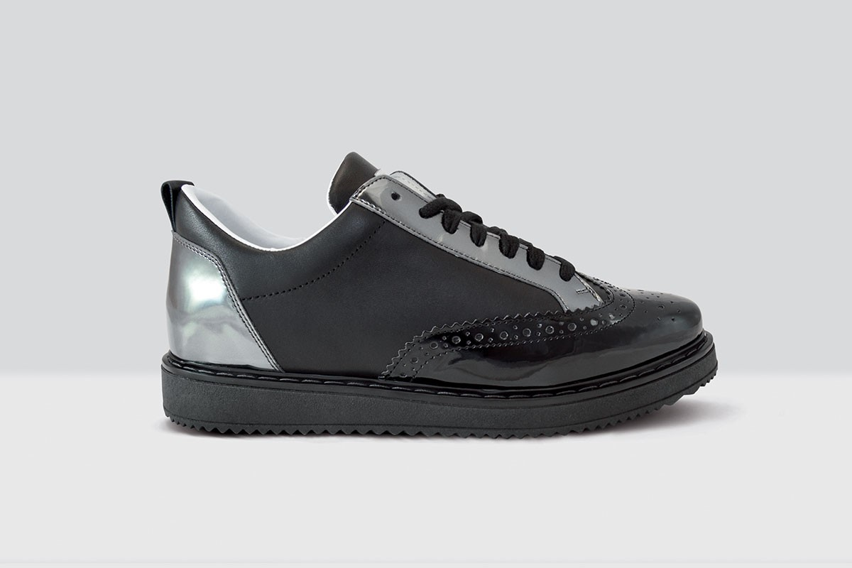 Royal Derby Nappa - 66 - Black/Black