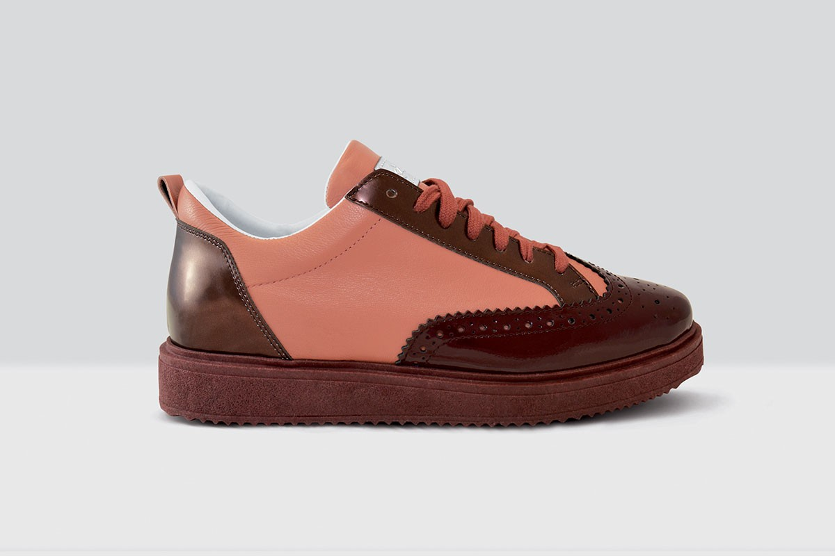 Royal Derby Nappa - 69 - Bordeaux/Old Pink