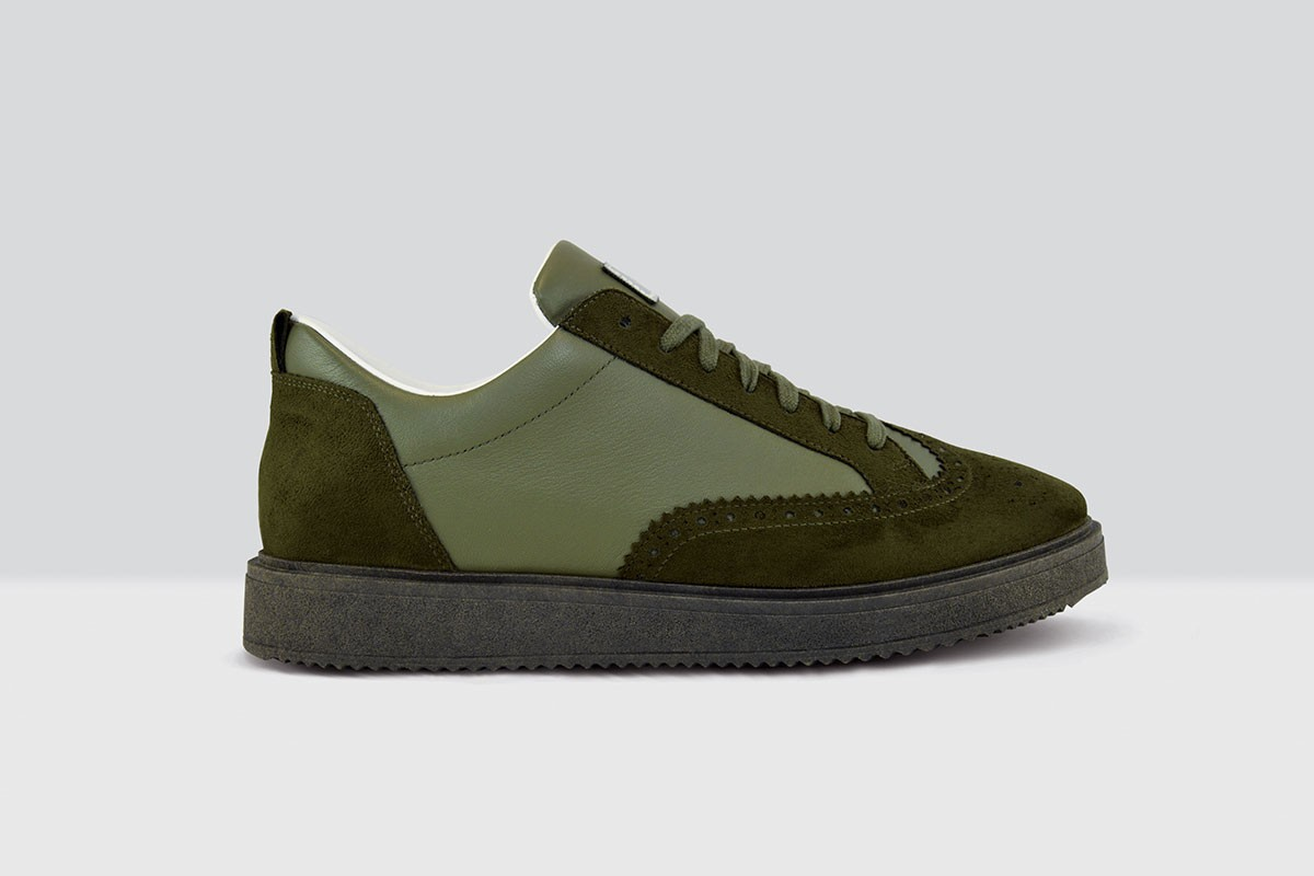 Royal Derby Nappa - 79 - Military Green