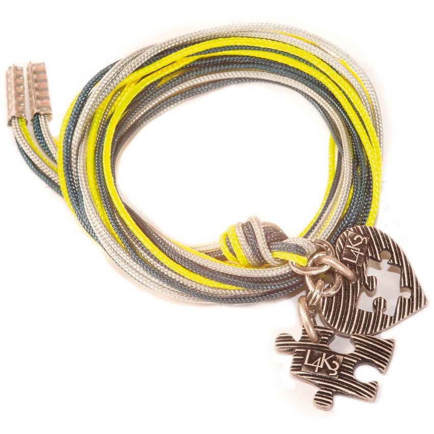 Bracciale/Collana in corda L4k3, GROP - 02