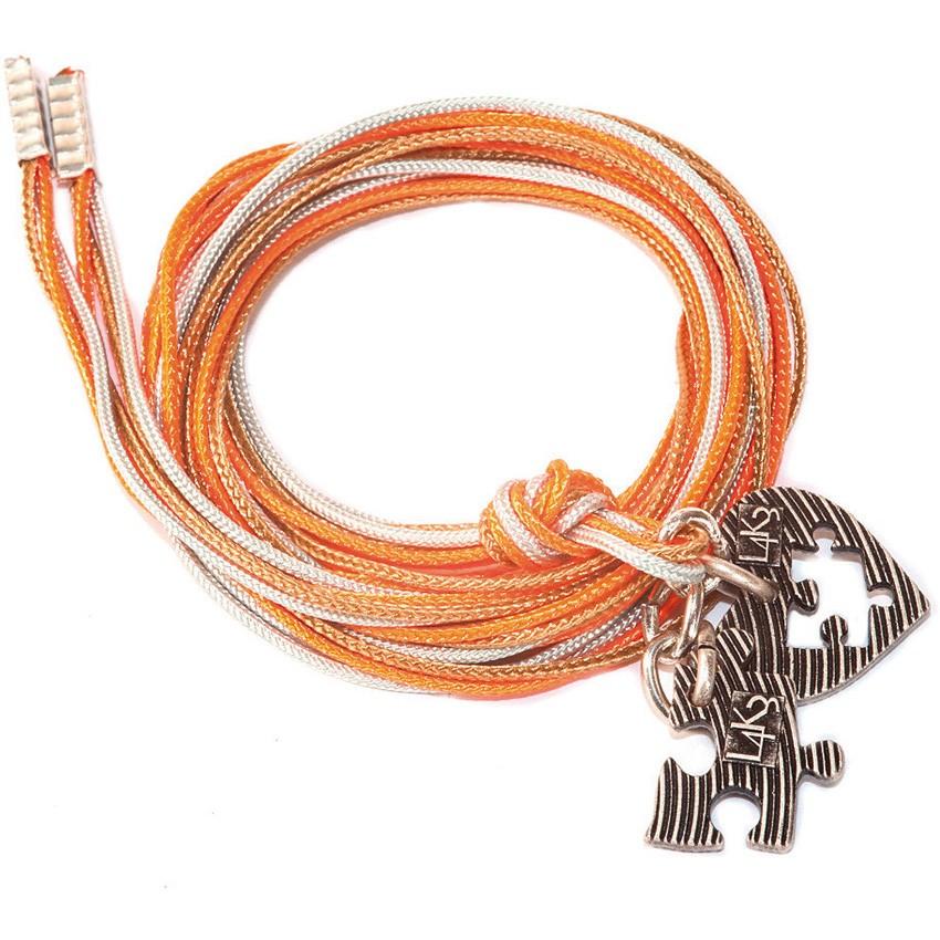 Bracciale/Collana in corda L4k3, GROP - 03