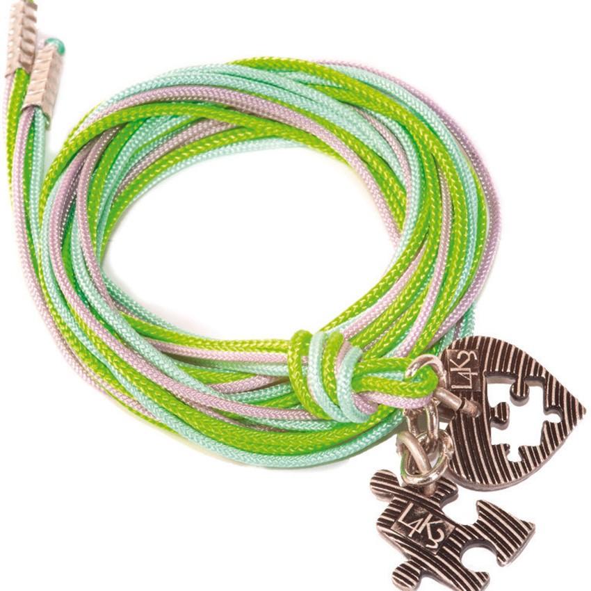Bracciale/Collana in corda L4k3, GROP - 04
