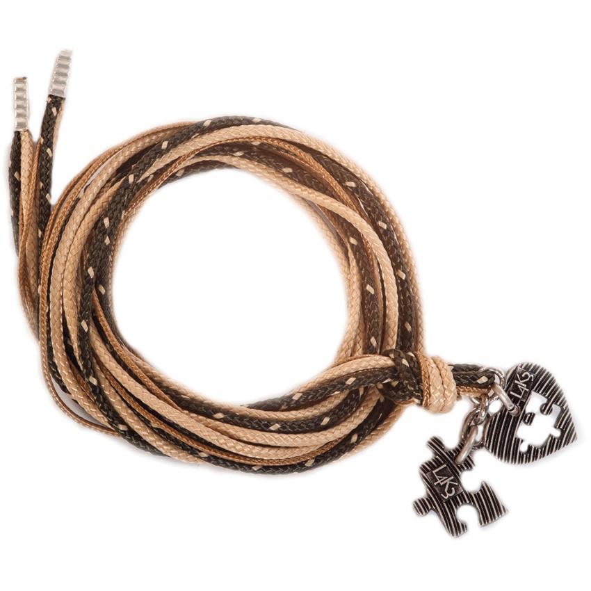 Bracciale/Collana in corda L4k3, GROP - 05