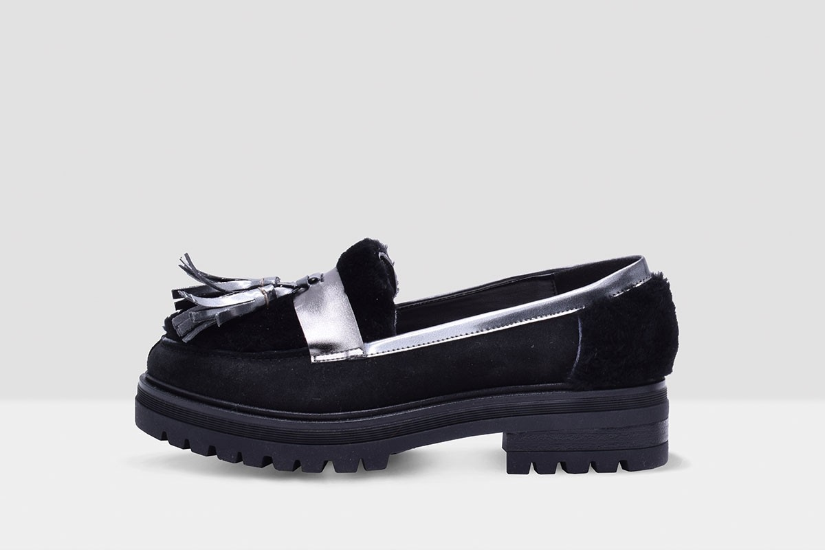 Mocassino TEDDY - Black