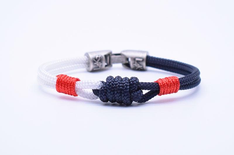 CAP 01 - Blue Navy Bianco - Rosso