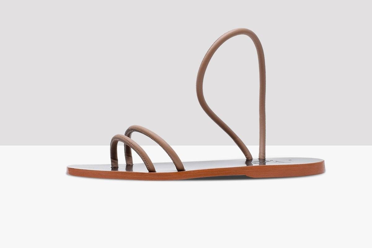 Sandal SOUL - Leather Nude