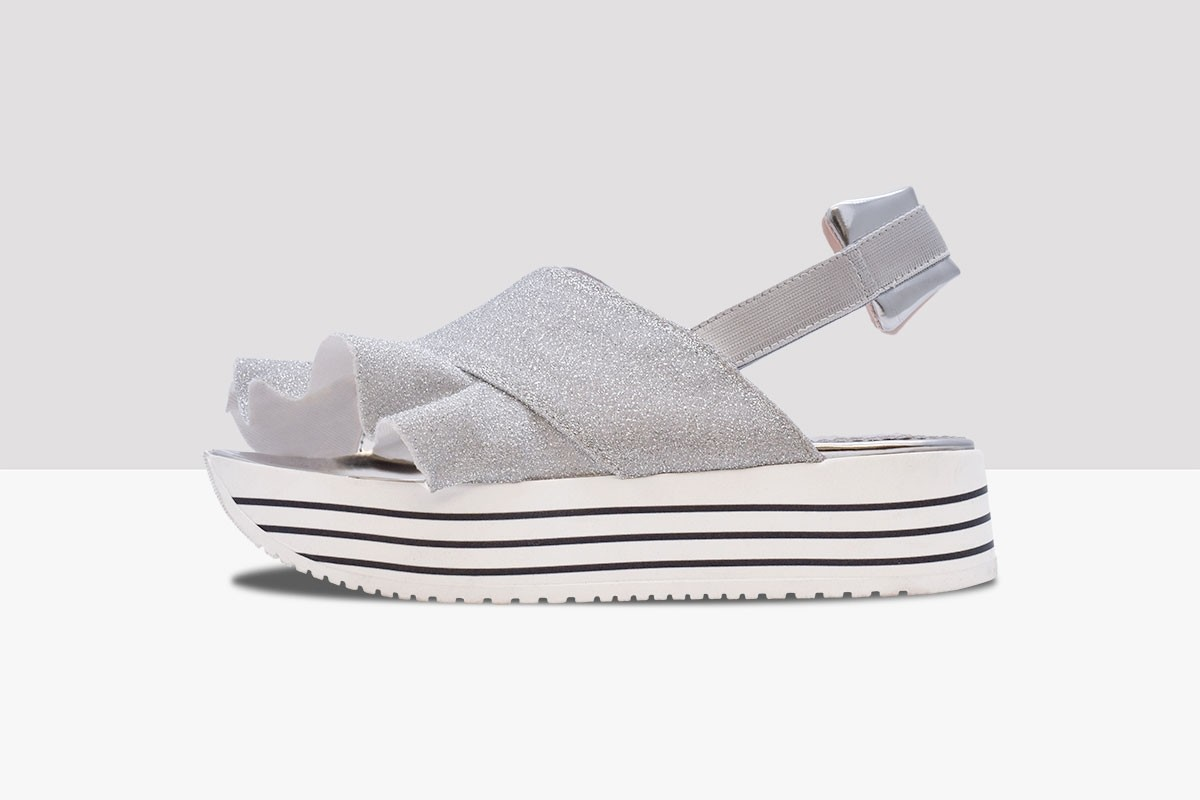 Sandal NOTTURNO - Silver