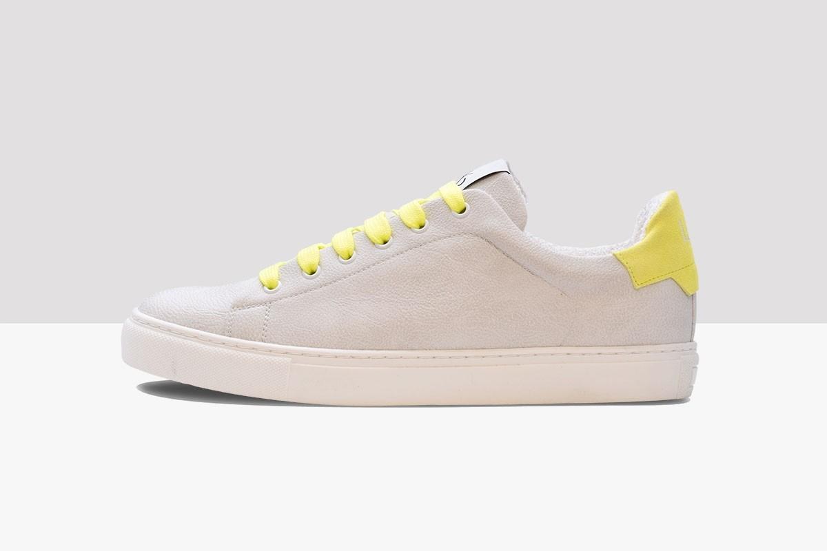 Tennis CLASSIC - White/Fluo
