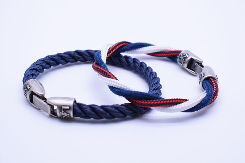KING 01 - Bianco - Blue Jeans - Rosso righe / Blue Navy - Blue Navy