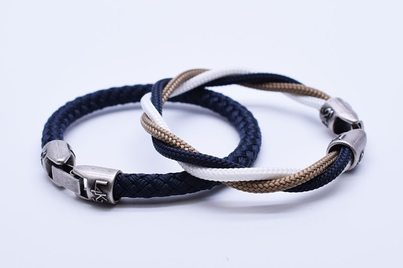 MUST 04 - Bianco - Gold - Blue Navy / Blue Navy