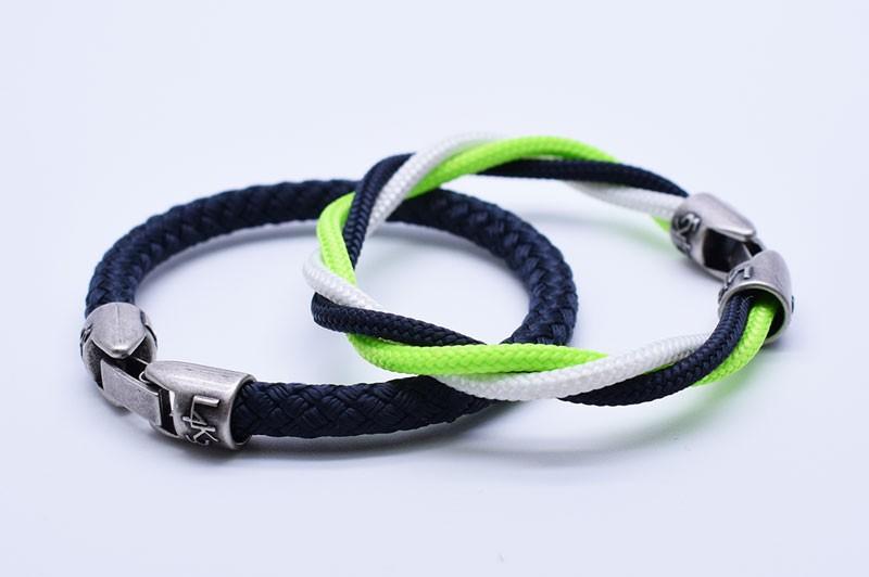 Must 07 - Bianco Verde Fluo Blue-Blue