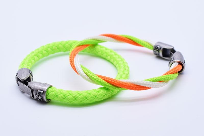 MUST 16 - Bianco - Verde Fluo - Arancio Fluo / Verde Fluo