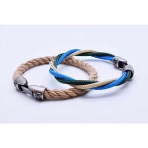 MUST 05 - Canapa - Verde Inglese - Azzurro / Canapa