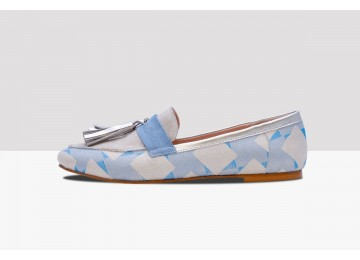 Mocassino PITAGORA - Light Blue