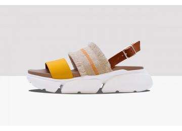 Sandal BLUES - Yellow/Brown