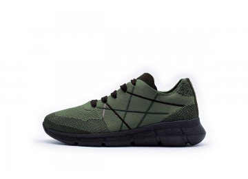 MR BIG HI-TECH Verde Militare/Bordeaux - 34 EN