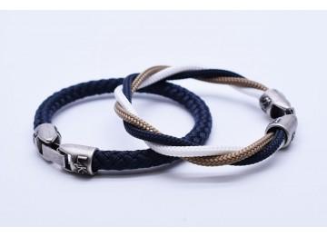 MUST 04 - Bianco - Gold - Blue Navy / Blue Navy