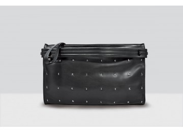 Kate Bag Letters - 114 - Black/Silver