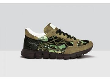 Mr Big Camou Velluto - 37 - Military Green