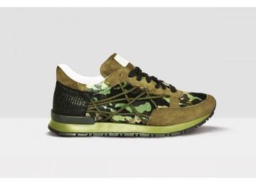 Mr Big Camou Velluto - 38 - Military Green