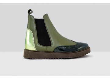 Beatles Nappa - 72 - Dark Green/Olive Green