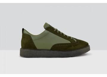 Royal Derby Nappa - 79 - Military Green