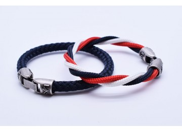 MUST 01 - Bianco - Rosso - Blue Navy / Blue Navy