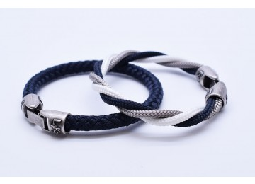MUST 02 - Bianco - Silver - Blue Navy / Blue Navy