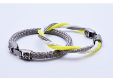 MUST 08 - Bianco - Giallo Fluo - Silver / Silver