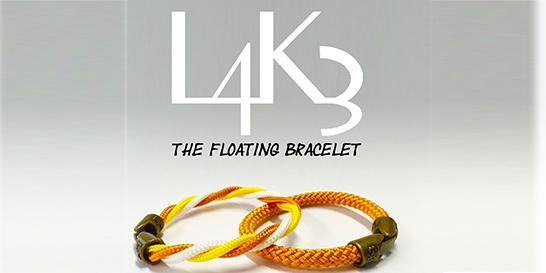 L4K3 Floating Bracelet